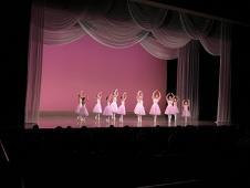 バレエの発表会がありました!