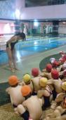 初泳ぎスタート!