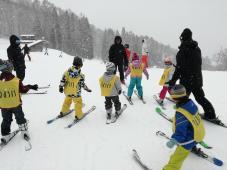 スキーキャンプ 2日目