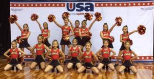 USAキッズチアダンス大会
