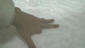 たくさんの雪を体験して