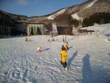 スキーキャンプ1日目