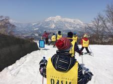 スキーキャンプ2日目