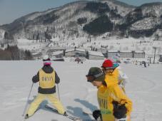 スキーキャンプ3日目