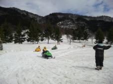 スキーキャンプお楽しみ(2日目)