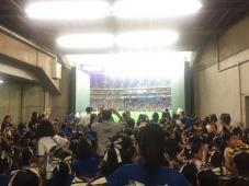 東京ドームでパフォーマンス!