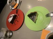 チーズケーキでパワーアップ!