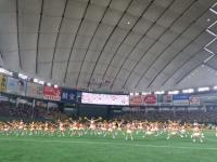 東京ドームで踊りました!!