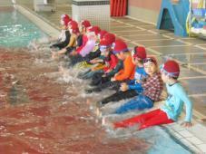 5月のチャレンジ週間 「着衣泳」