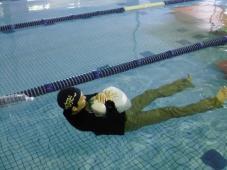 年に1度の着衣泳
