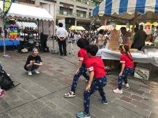 黄金井名物市にダンスで出演!