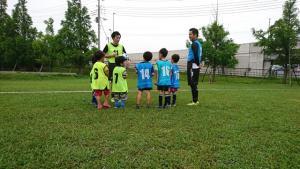 キタジサッカースクール体験会開催