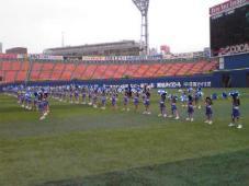 横浜スタジアムで踊りました