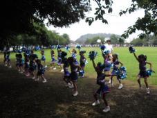 横須賀スタジアムで踊ってきました