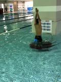 スイミング選手コースの練習!