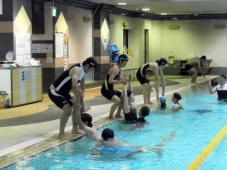 水上安全研修を行いました