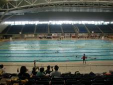長水路記録会 全力で泳ぎました!