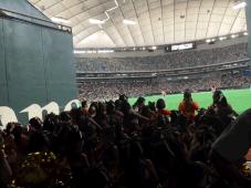 チア 東京ドーム出演しました!
