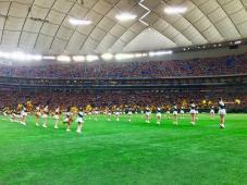 東京ドームでチアダンス