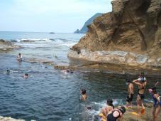 行ってきました!夏の日本海!!