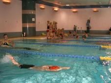 夏の短期水泳教室
