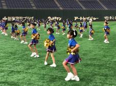 東京ドームでLet'sチアダンス