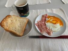 かわいい朝食