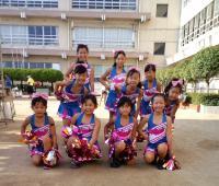 玉島祭りでキッズチアダンス披露!