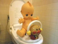 トイレのヒーロー