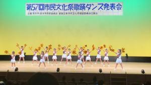 【キッズチア】市民文化祭に出演!