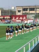 キッズチア関東大学サッカー応援