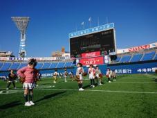 横浜スタジアムで踊ってきました!