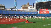 横浜スタジアムでチアダンス