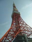 東京タワーの階段を登って