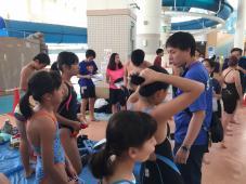 多摩市民水泳大会参加
