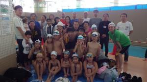 みんな頑張った!多摩市民水泳大会