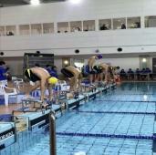多摩市民水泳大会に参加しました!