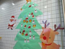 クリスマスツリーの登場