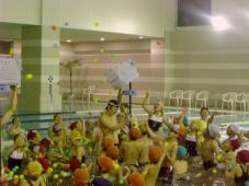 チャレンジ!水中運動会