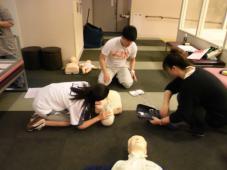 CPR研修をしました!