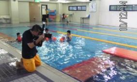 水中写真撮影会が始まりました