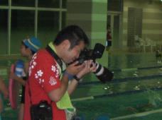 プロのカメラマン・・・