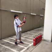 消防訓練!