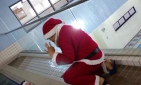 サンタがコーチになりました