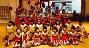 キッズチアダンス クリスマス会